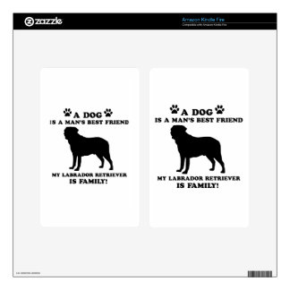 My labrador retriever family, your dog just a best skin for kindle fire