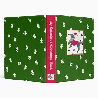 My Labrador's Christmas Book Binder