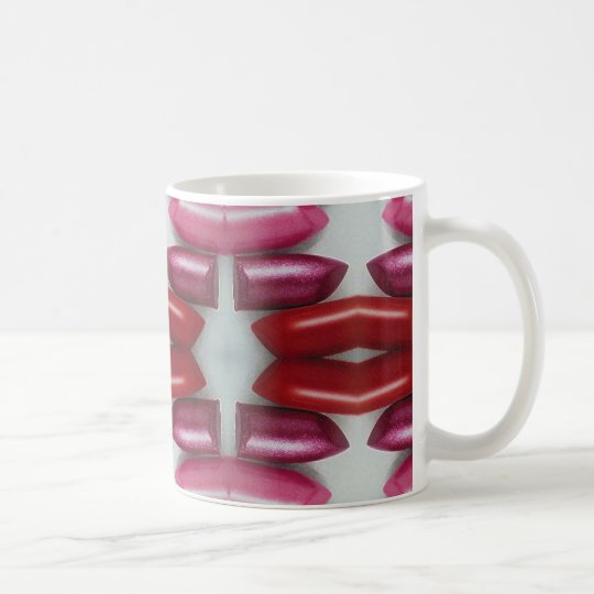 My Lady Likes Lipstick Coffee Mug
