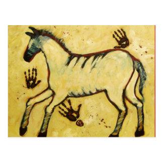 My Lascaux Horse Postcard