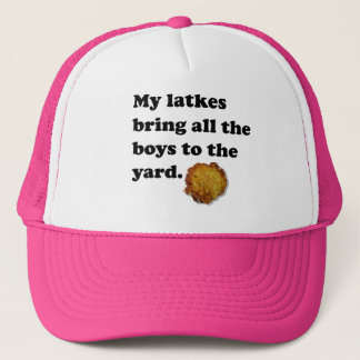 My Latkes Trucker Hat