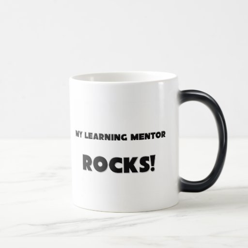 MY Learning Mentor ROCKS! 11 Oz Magic Heat Color-Changing Coffee Mug