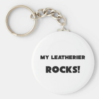 MY Leatherier ROCKS Key Chains