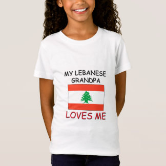 My Lebanese Grandpa Loves Me T-Shirt