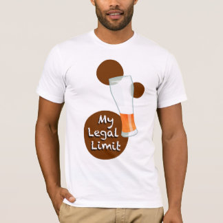 My Legal Limit, Beer T-Shirt