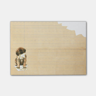My Leonberger Ate My Homework Post-it® Notes