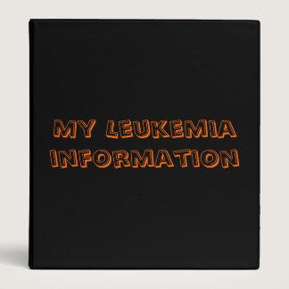 My leukemia binder
