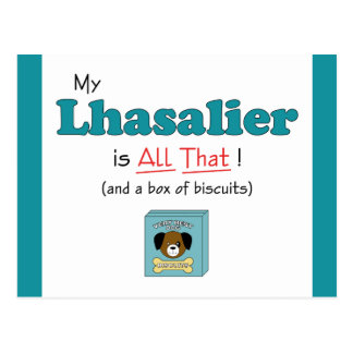 My Lhasalier is All That! Postcard