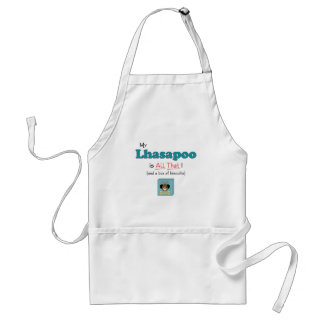 My Lhasapoo is All That! Adult Apron
