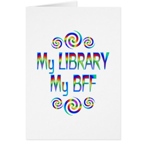My Library BFF Cards