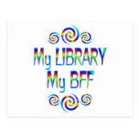My Library BFF Postcard