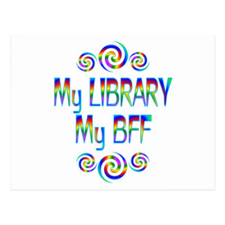 My Library BFF Post Cards