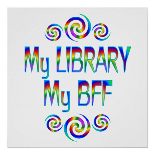 My Library BFF Poster