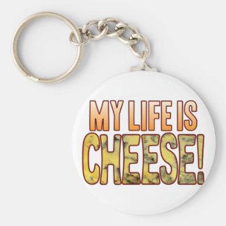 My Life Blue Cheese Keychain