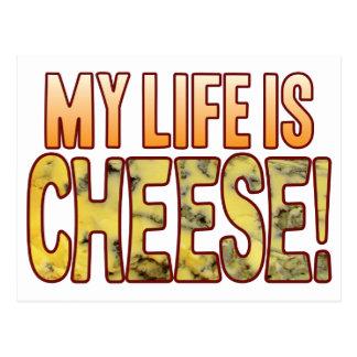 My Life Blue Cheese Postcard
