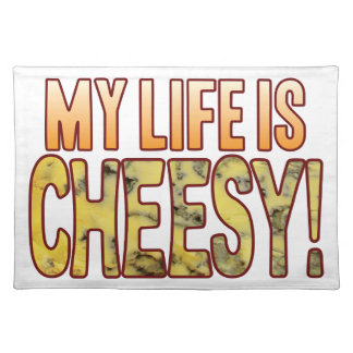 My Life Blue Cheesy Placemat