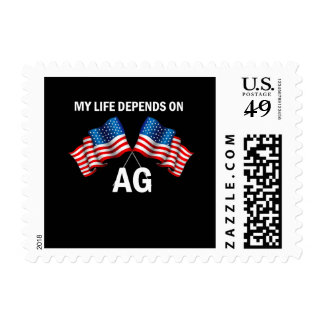 My Life Depends On AG Stamps
