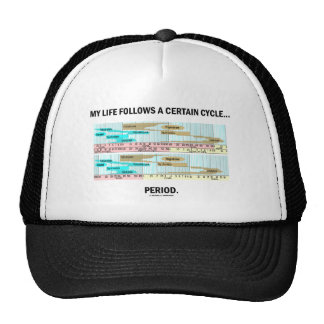 My Life Follows A Certain Cycle... Period. Hat