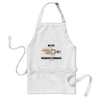 My Life Frequently Unravels (DNA Replication) Adult Apron