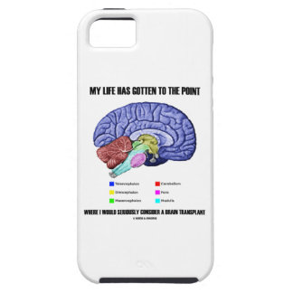 My Life Gotten To Point Consider Brain Transplant iPhone SE/5/5s Case