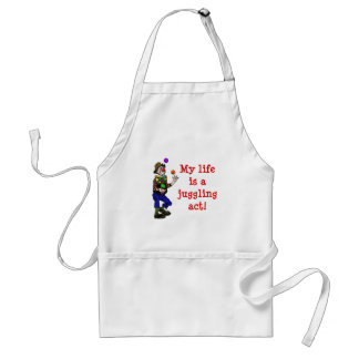 My Life Is A Juggling Act Adult Apron