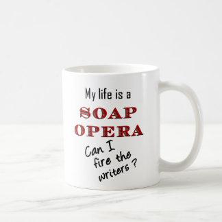 My LIfe is a Soap Opera Writers Mug