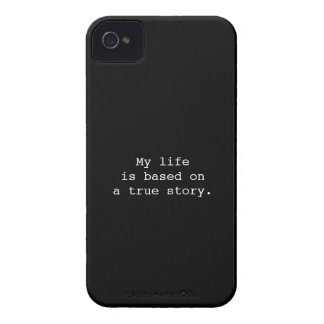 My life is a true story iPhone 4/4S Case-Mate B.T.