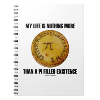 My Life Is Nothing More Than A Pi Filled Existence Notebook