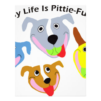My Life is Pittie-full Letterhead