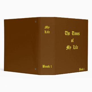 My Life Journal 3 Ring Binders