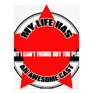 My Life Letterhead Design