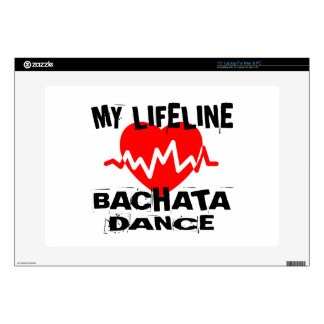 MY LIFE LINA BACHATA DANCE DESIGNS DECAL FOR LAPTOP