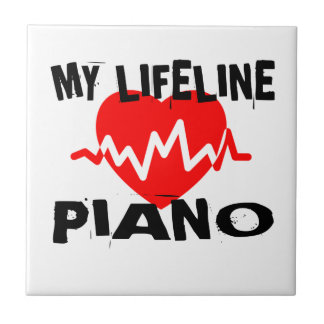 MY LIFE LINE PIANO MUSIC DESIGNS TILE