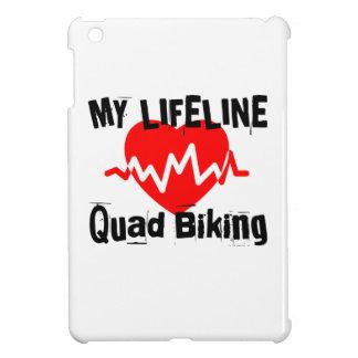 My Life Line Quad Biking Sports Designs iPad Mini Cover