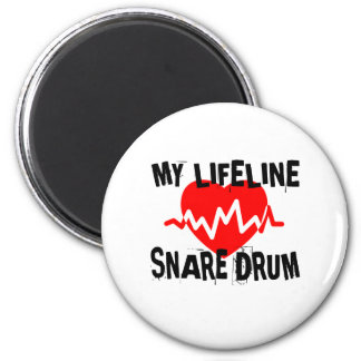 MY LIFE LINE SNARE DRUM MUSIC DESIGNS MAGNET