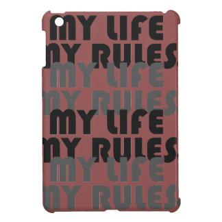 My Life My Rules  Savvy iPad Mini Glossy Finish Ca Case For The iPad Mini