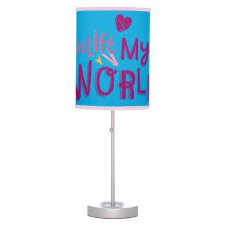 My Life My World 2 Desk Lamp