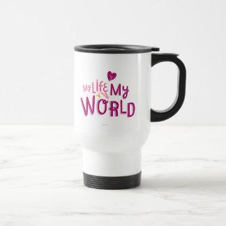 My Life My World 2 Travel Mug