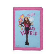 My Life My World Tri-fold Wallets at Zazzle