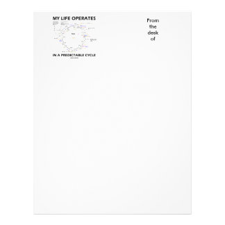 My Life Operates In A Predictable Cycle (Krebs) Letterhead