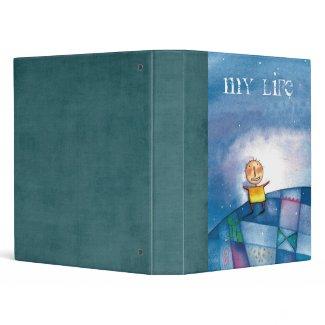My Life Scrapbook 3 Ring Binder