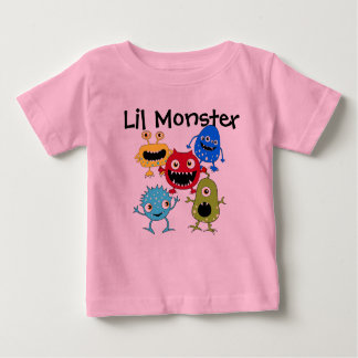 My Lil Monster Baby T Shirts