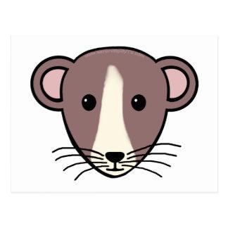 My Lil Rattie Post Card
