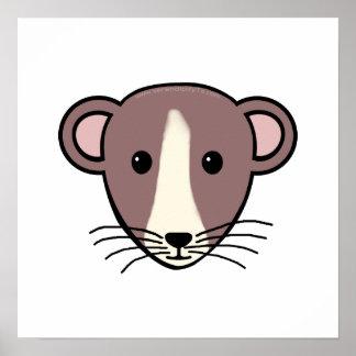 My Lil Rattie Print