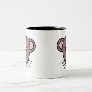 My Lil Rattie Two-Tone Coffee Mug