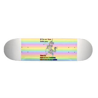 My Li'l Unicorn Skateboard
