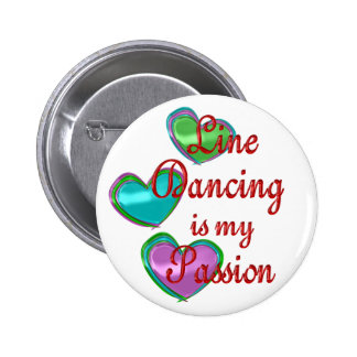 My Line Dancing Passion 2 Inch Round Button