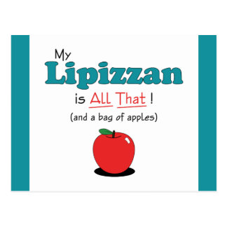 My Lipizzan is All That! Funny Horse Postcard