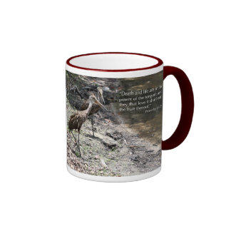 My lips are sealed ...Proverbs 18:21 Scripture Mug