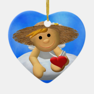 My Little Angel: A heart for you Christmas Ornaments